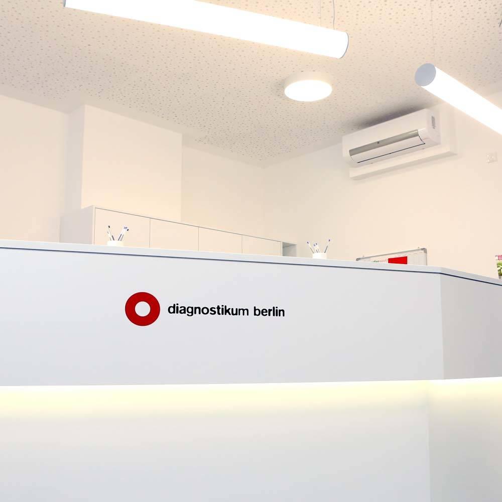 Anmeldung Diagnostikum Berlin