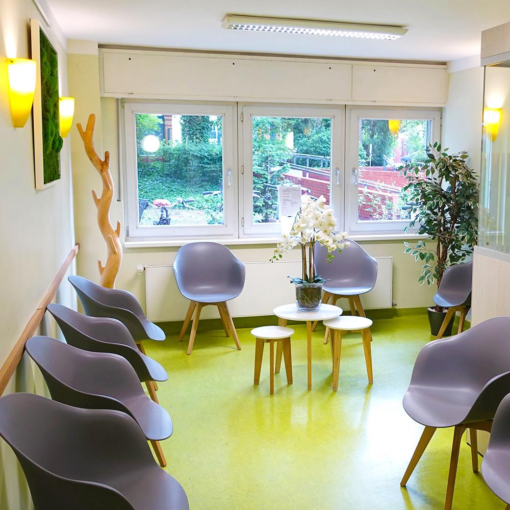 Wartebereich_Radiologie_Diagnostikum Berlin Zehlendorf